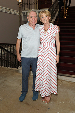 Andrew and Madeleine Lloyd Webber